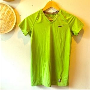 Nike Pro short sleeve workout top
